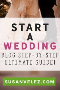 How to start a wedding blog and actually make money with it. More and more people are turning to the Internet in hopes of earning an income. In this post, I am going to share some tips with you on how to start your wedding blog.