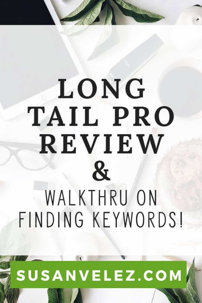 Long Tail Pro Review, the keyword tool that I use for finding profitable keywords for my blog posts. Growing a blog is hard and it's important to learn how to find keywords that you can SEO properly and rank for over time.