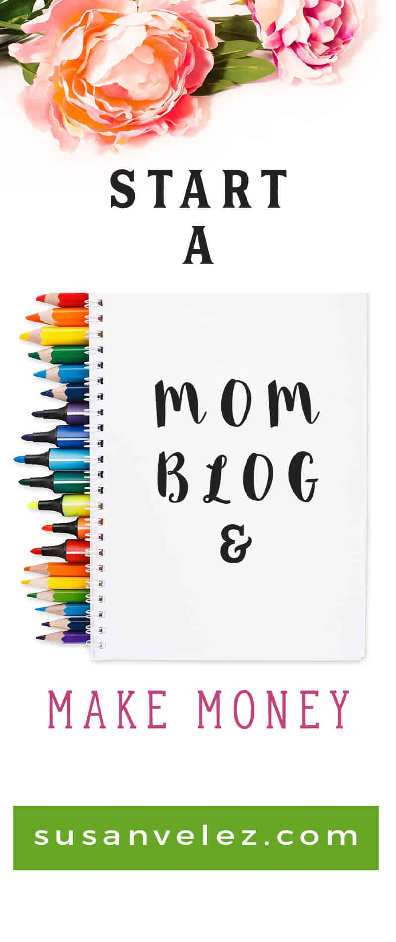 Start a mom blog to make extra money from home, If you've wanted to work at home and gain financial freedom, then I share some blog tips that will help you start a mom blog the right way, so you can turn your blog into a profitable business, find out how.