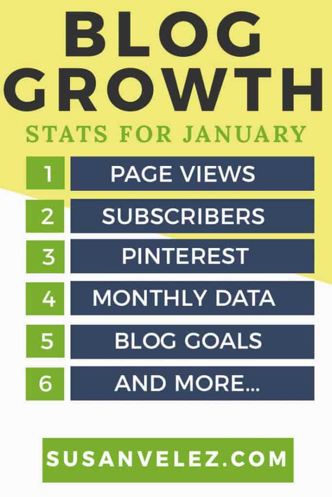 Blog Traffic Report January 2018. Growing a blog is hard, find out what traffic methods I used to grow my blog. Plus why I am focusing more on Pinterest to help take my blog to next level.