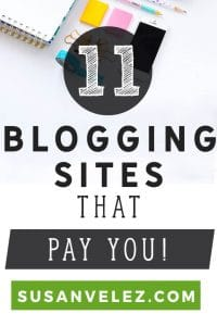 Blogging sites that pay you good money for your articles are real. Monetizing a blog can be a challenge. Have you ever thought about selling your content to blogging sites that pay good money? If not then after you read this post, you might just consider it. https://susanvelez.com/blogging-sites-that-pay/