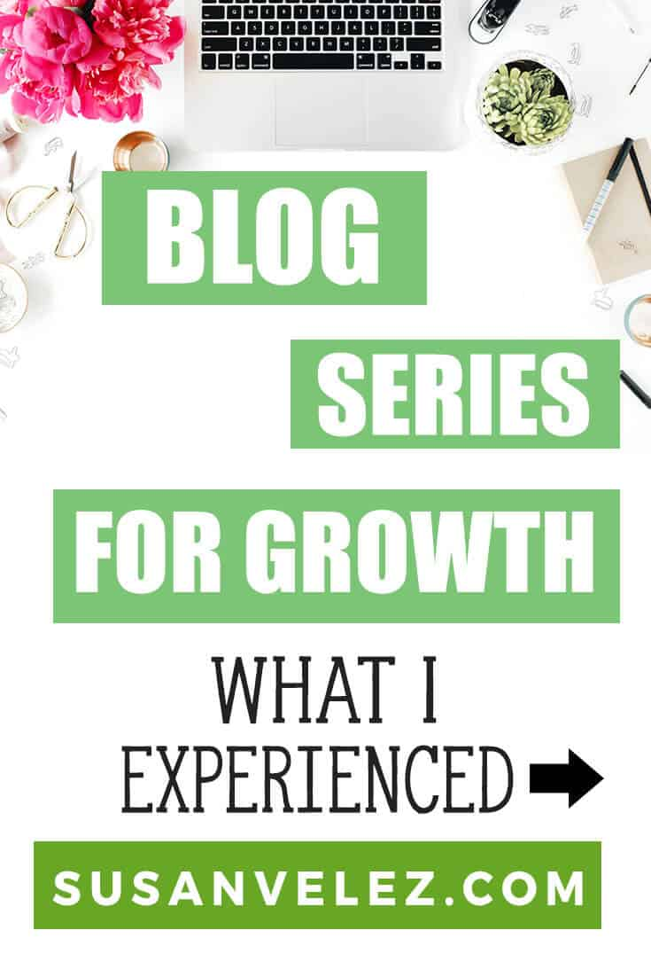 How to create a blog series for your blog and use it to grow your blog. Use these ideas to help you grow your blog. Plus I'll share which articles I used for my series and the results I got. #NewbieBlogger #BloggingTips