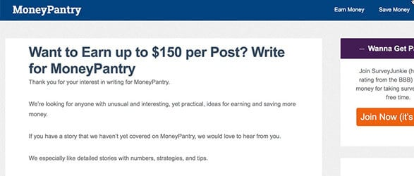 Money Pantry