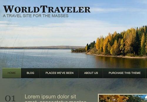 World Traveler Theme