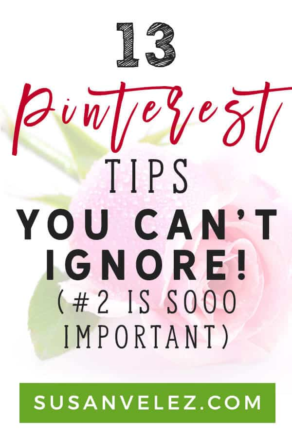 Pinterest tips and tricks / Pinterest tips for business. Learn how to use Pinterest to help you grow your blog. This Pinterest tips for bloggers can help you increase your blog traffic if you take the time to use them on a daily basis. #newbieblogger #pinterest #pinteresttips
