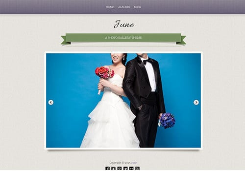 June Wedding Theme