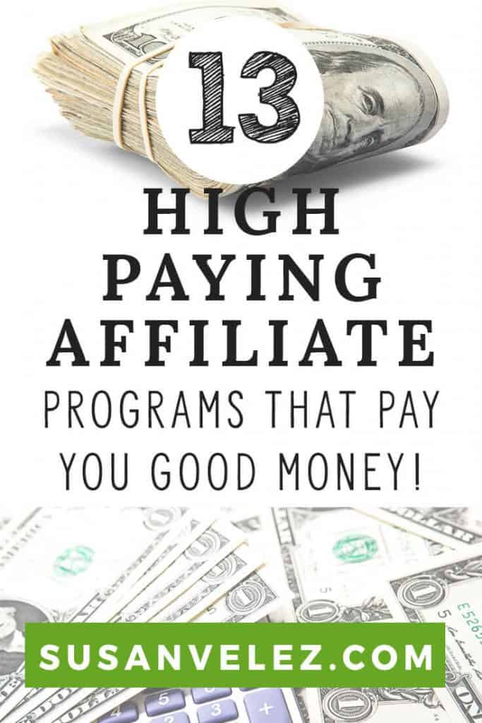 High Paying Affiliate Programs / Which high paying affiliate programs are actually worth your time? Affiliate marketing is not as easy as linking to the product. If you want to make money, you need to get good with affiliate marketing. That's why I wanted to share 13 high paying affiliate programs you can join today.