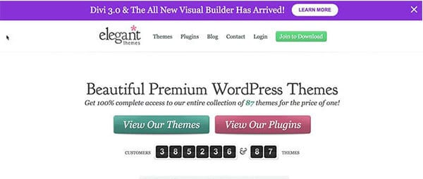 Elegant Themes blogging tools