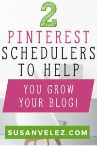 Pinterest scheduling tools can help you grow your blog. If you are going to use Pinterest schedulers to grow your blog, don't make the mistake of setting them up and walking away. You still need to take the time to manual pin, but with the right Pinterest scheduling tools, you can focus on other areas of blog growth