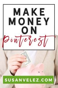 Can you make money on Pinterest? If you're a brand new blogger who is struggling to grow your blog audience and just getting started with Pinterest marketing, you can make money on Pinterest. Find out what the best way is so you can get into profit as quickly as possible.