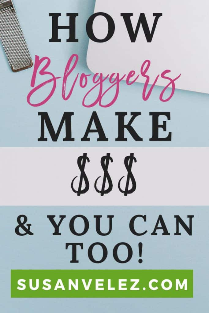 How do bloggers make money online? If you've been following my blog for a while, then you know that I am in the process of moving away from my WordPress freelancing business. You also know that I started this blog because I want to turn it into a full-time business.