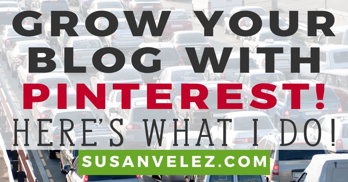 how to grow blog traffic with Pinterest