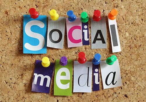 social media for blogging