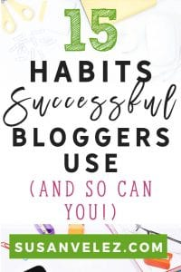 Successful bloggers are not born. Successful bloggers have just learned how to develop habits that help them achieve their goals overtime. The best part is that you can do the same, here are some of the habits you need to develop to become a successful blogger.