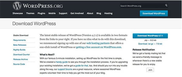 WordPress blogging tools