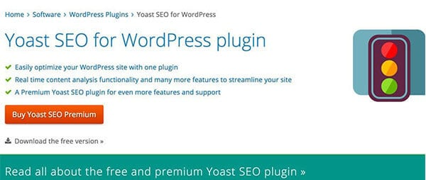 Yoast SEO blogging tools