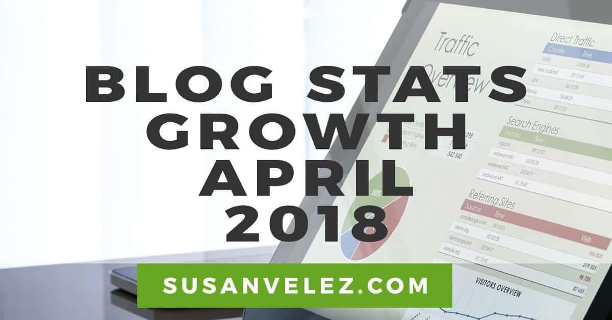 blog growth updates April 2018