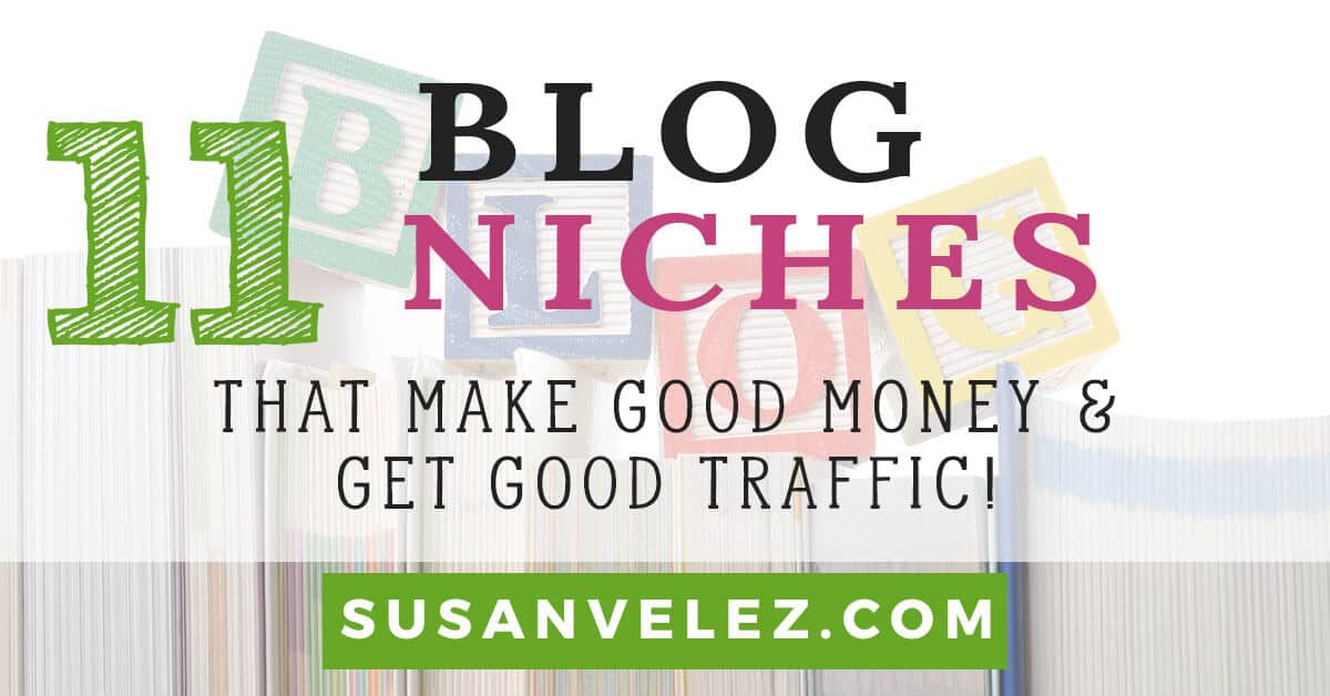blog niches