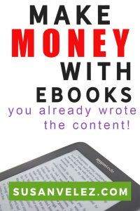 Can you make money writing eBooks? We all want to make money with our blogs, but we're told that we need a ton of traffic if you want to make money with ads.