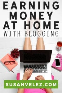 Learning how to earn money online at home with your blog is not as hard as many people think. Ask any new blogger and they will tell you that their dream is to learn how to earn money online at home with their blog.