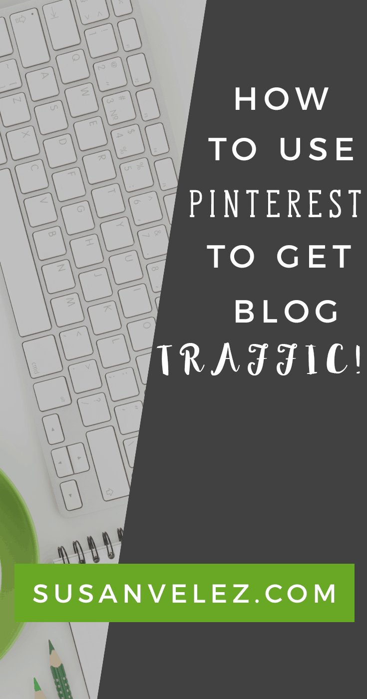 how to use Pinterest for traffic. Learn what it takes to get Pinterest traffic to your blog. Pinterest traffic does take time to grow, but when you learn how to use it for your blog, you will be amazed at how quickly you can start getting traffic.