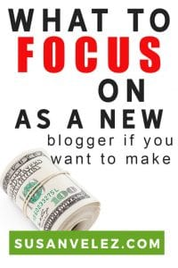 Money making tips you should focus on as a new blogger. Most of us start a blog because our dream is to be able to earn an income from our blog. Unfortunately, it doesn't happen overnight. If you ever want your blog to make money, follow these tips to help you out.