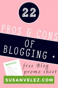 Have you ever wondered what the pros and cons of blogging are? If so then you are in the right place. We're going to take a look at what to expect as a blogger so you can see if it's the right path for you.
