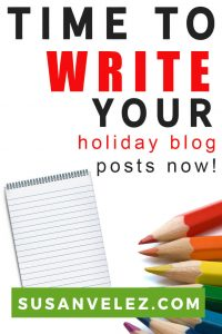 Even though it's Summer, you should definitely start thinking about the upcoming Thanksgiving blog post ideas. Don't worry, I am going to share some ideas you will love then I'll show you how to promote your Holiday blog posts regardless of the time of the year it is.