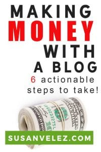 Learning how to make money with a blog for beginners can be challenging. Blogging for money is not as challenging as you might think. There are several ways to monetize and in this post, you're going to discover some possible ways to do that.