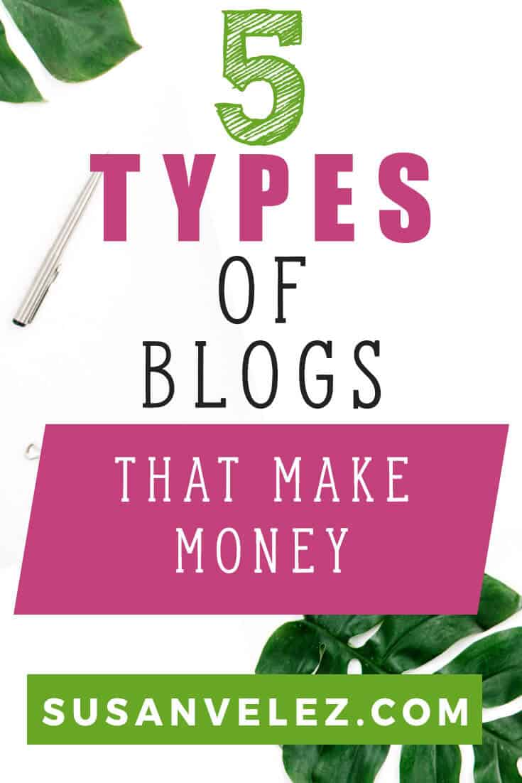 There are virtually several different types of blogs you can start as a blogger. However, if you're interested in turning your blog into a business, you want to make sure that you start one that actually has the potential to make you money.