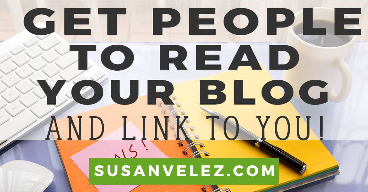 how to get people to read your blog