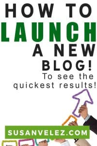 Learning how to launch a new blog is not hard. I'm going to share some tips that will help you get started on the right foot. It's not hard to start a blog, in fact, you can start for free. But I don't think that you should. #blogging #bloggingtips #blogger