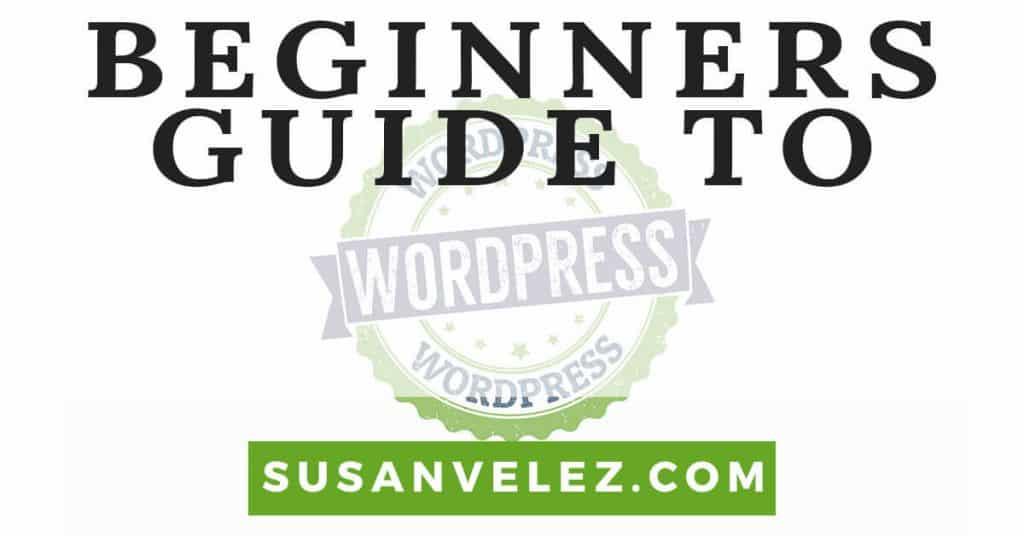 WordPress the Complete Beginners Guide Kindle eBook