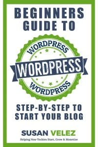 The WordPress Complete Beginners Guide My New Kindle eBook was written to help you get your first WordPress blog started. Do you want to start your blog this year? If so then now is the time to get my step-by-step guide that will help you get your blog set up today!