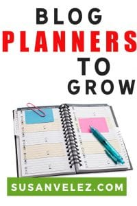 Are you looking for the best blog planner to help you stay organized? If so then you're in the right place, I've rounded up some of the best paid and free planners to help you reach your online goals. #blogging #blogger