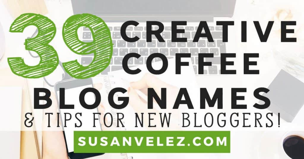 coffee blog names