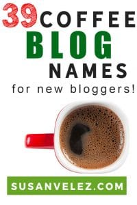 Believe it or not, there are people that make money in several different niches. Today, I'll be sharing 39 coffee blog names and show you how some of these blogs make money. Hopefully, this will get you off the fence and get your blog started. #blogging #bloggingtips