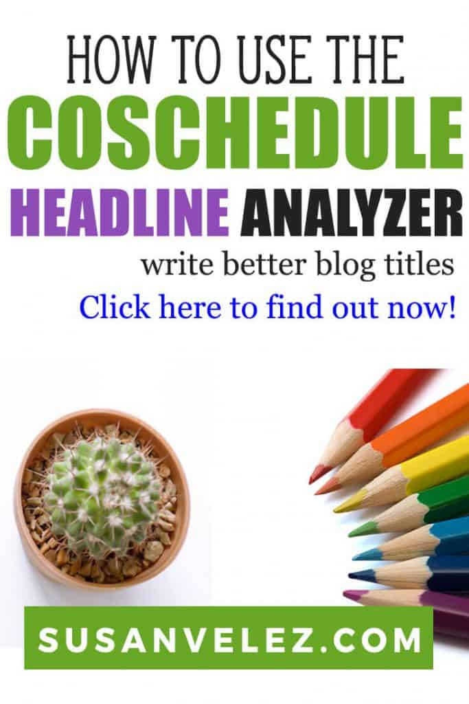 Today, I am going to walk you through on how to use the CoSchedule Headline Analyzer and show you why I love it so much. Your blog title will play a huge role on your organic rankings and that's why I think it's so important to learn about this headline generator. #headlines #blogging #writing #blogger