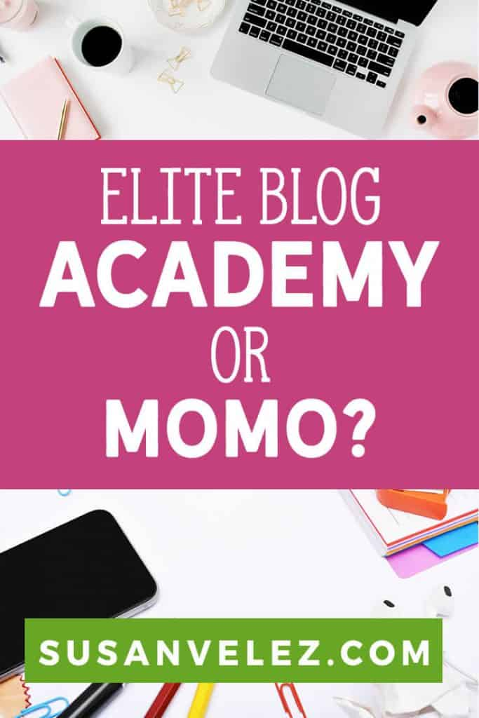 If you're a blogger who wants to build a business, chances are you have heard about the Elite Blog Academy course that was created by Ruth Soukup. Maybe you're wondering if it's actually worth the huge price tag that comes with it? #blogging #bloggingtips #blogger