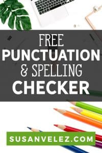 Every blogger spends a boatload of time in their WordPress text editor writing content. If you're constantly worried about your spelling errors, you're going to love this free punctuation checker and corrector called Grammarly. #writing #blogging #blogger