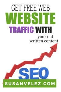In this post, I am going to show you how to get free website traffic using old content. If you have built up an archive of blog posts, this will be right up your alley. If you've just launched your blog and only have a few posts, then this won't work for you right now. #blogging #blogger #traffic