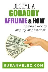 So you want to become a GoDaddy affiliate and not sure how to get started. Well, don't worry, I've decided to create a step by step tutorial to help you sign up for the GoDaddy referral program and hopefully make some money. #affiliate #blogging #makemoney