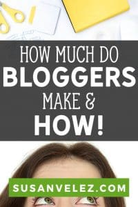 How much do professional bloggers make? This is the question that most new bloggers want to know before they start investing time and money into their blog. We are going to take a look at how much some bloggers are making and how they are making their money. #blogging #makemoney #writing