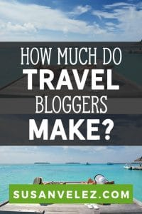 How much money do travel bloggers make? This is the burning question that everyone who starts a blog wants to know regardless of the niche they are in. Go here if you're ready to start a travel blog, keep reading to get some of your questions answered. #blogging #blog