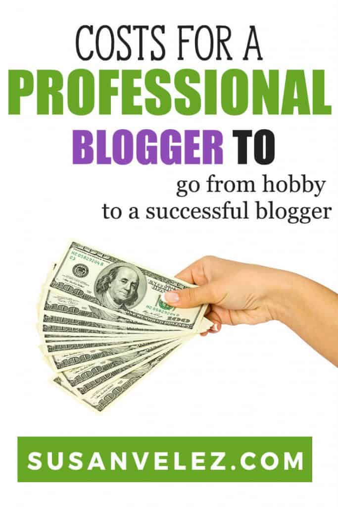 How much does it cost to start a blog? It's not unusual to hear a new blogger's asking this question. The great thing is that you can start a blog for as little as you want. #blogging #blogger #bloggingtips