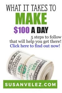 All new bloggers want to learn how to make $100 a day online using the fastest possible methods. Today, I am going to talk about a legitimate way to start earning money with your blog. Unfortunately, it's NOT going to be a very quick way. #blogging #makemoneyonline #makemoney #blogger