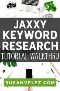 Today, I thought I'd share my review of the Jaaxy keyword research tool. As you know, I am a huge fan of SEMRush, but can't really afford to pay the steep $99 monthly subscription. #keyword #SEO #blogging