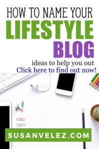 Coming up with blog domain ideas can be a huge challenge, especially, if you've never had a blog. Hopefully, these lifestyle blog names will help you brainstorm some ideas for your new blog. #blogger #lifestyle #blogging