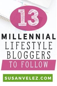 More and more people are starting lifestyle blogs. In this post, I am going to share 17 millennial lifestyle blogs you might want to follow. #lifestyle #bloggers #blogging