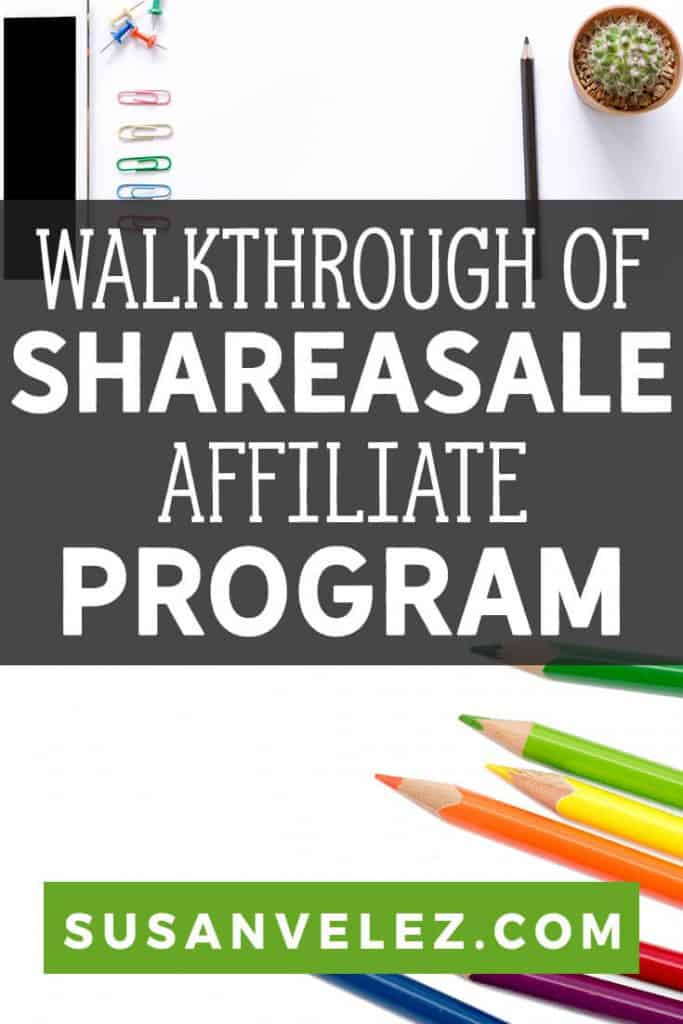 Did you start your blog because you want to earn money from it? If so then you are in the right place, this ShareASale review is going to show you everything you need to know about using the largest affiliate program. #affiliatemarketing #makemoney #blogging #affiliate